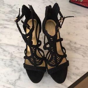 Also black heels